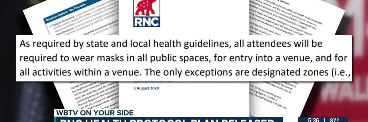 RNC health protocol plan released