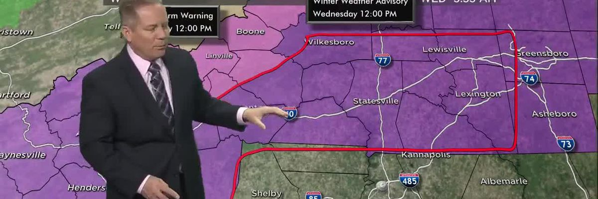 FIRST ALERT: Winter Storm Warning remains in effect through Noon
