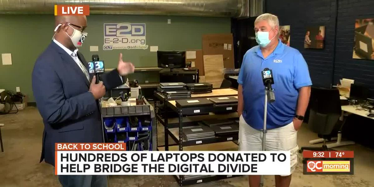 Hundreds Of Laptops Donated To Help Bridge The Digital Divide