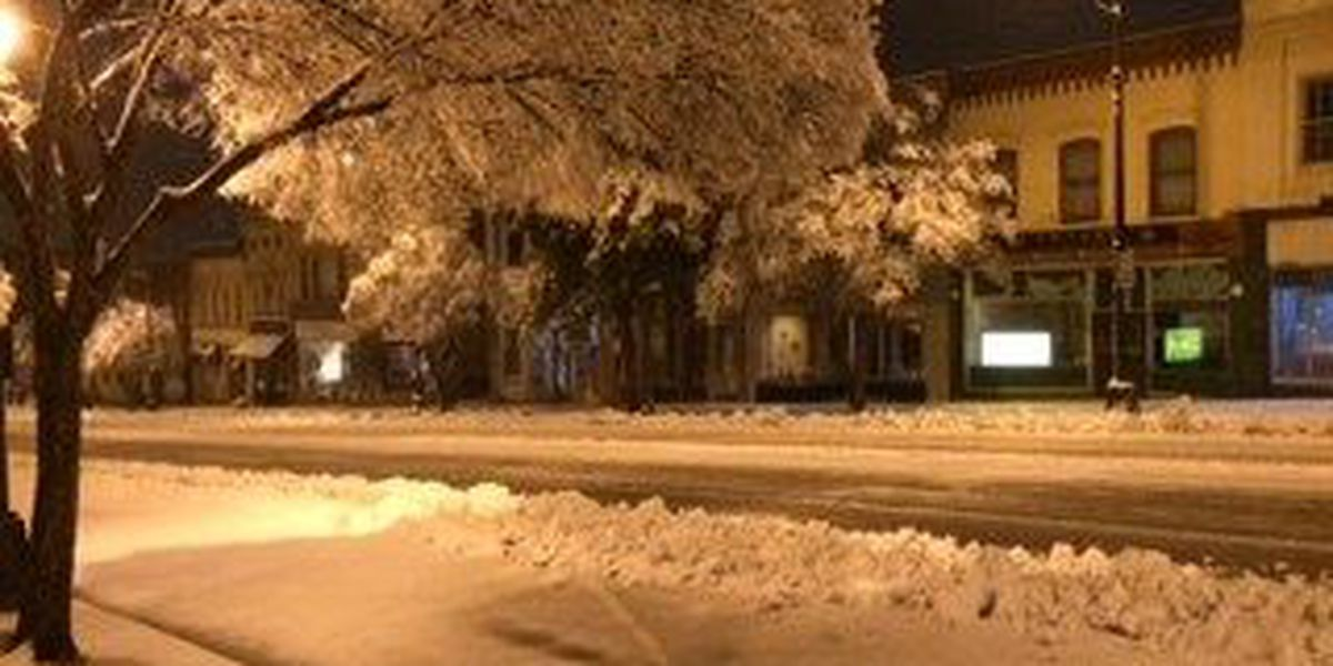 Salisbury and Rowan County wake up to several inches of snow