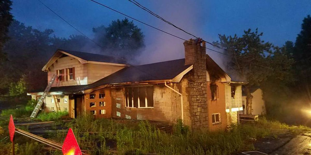 Fire heavily damages vacant house in Kannapolis
