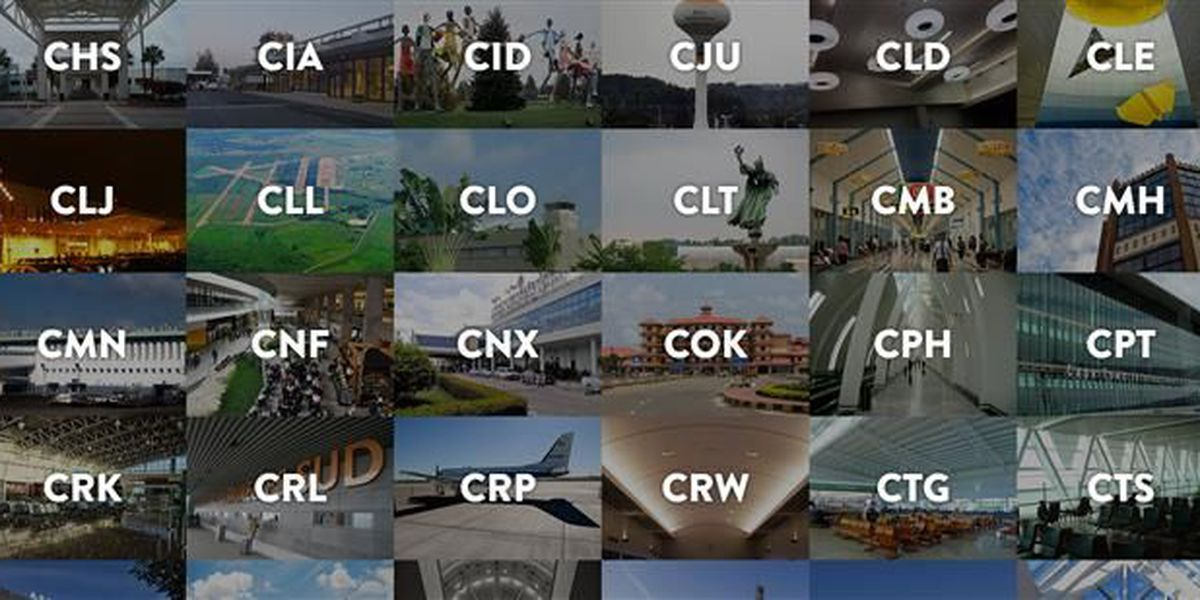 Weather Blog: Airport Codes... Decoded!