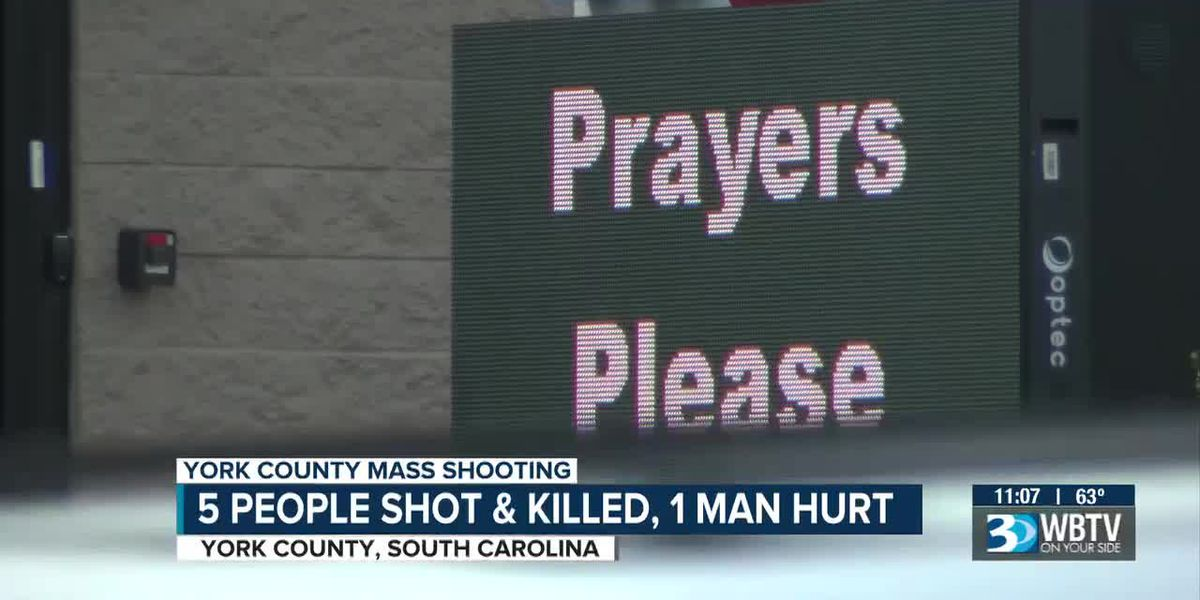 5 people shot and killed, 1 man hurt