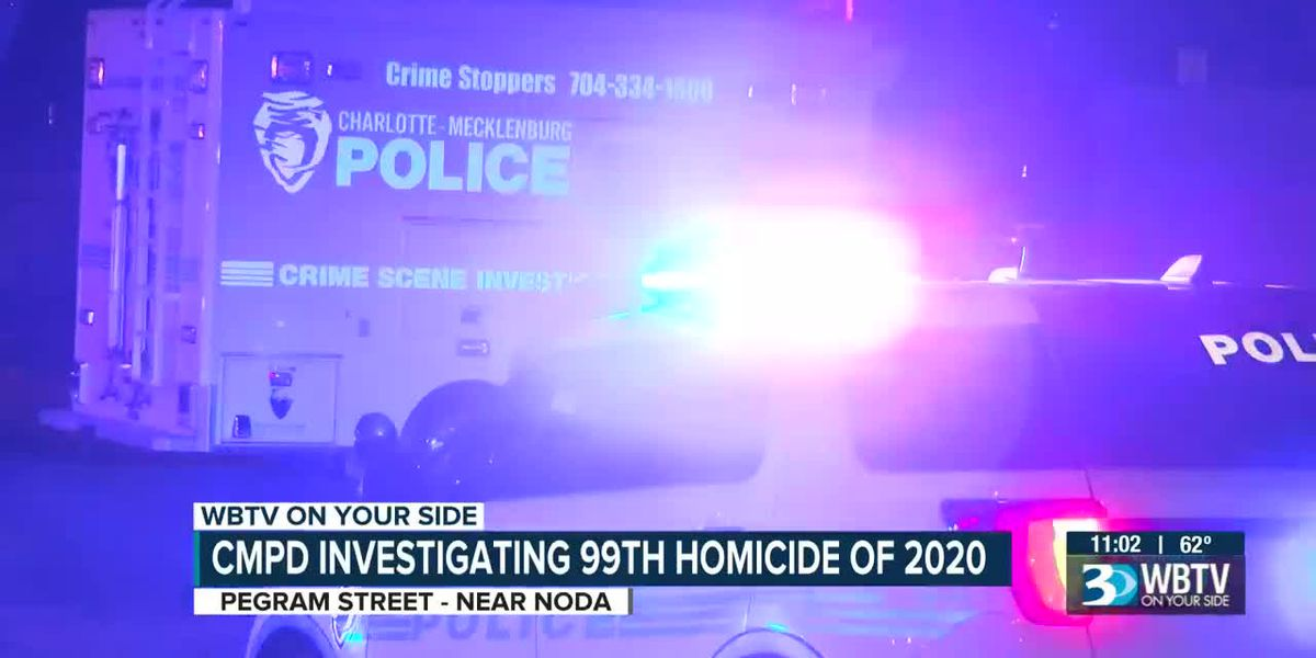 CMPD investigating 99th homicide of 2020