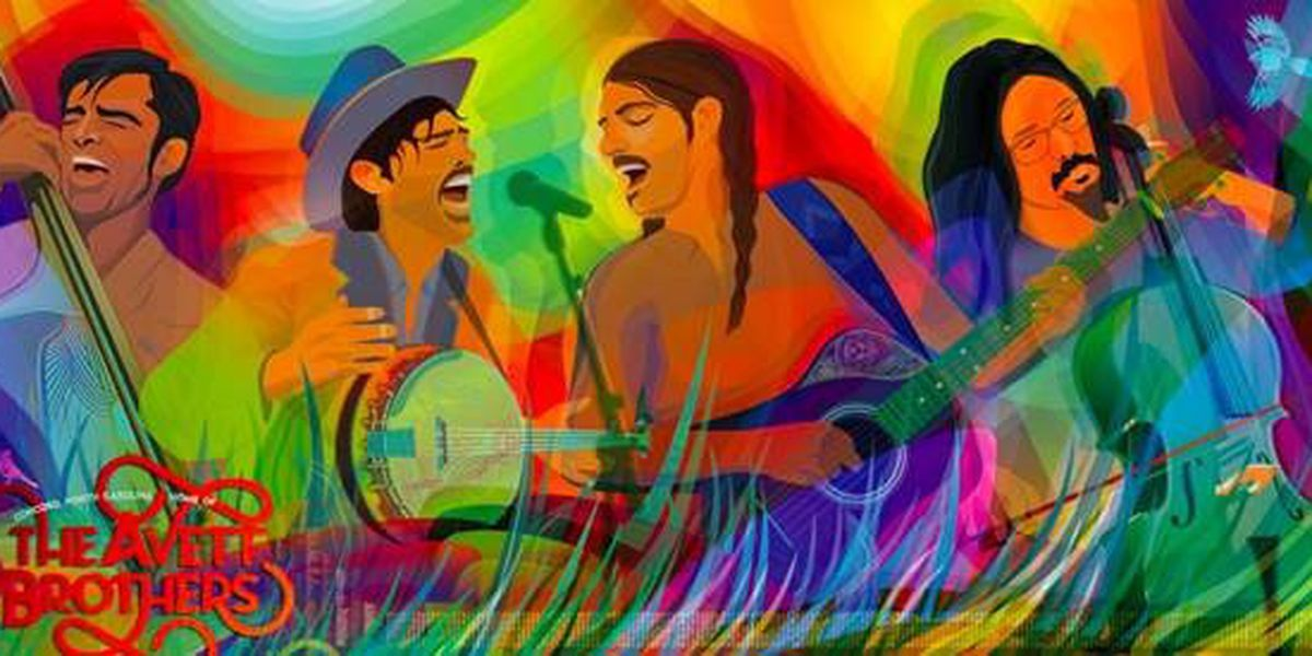 New tribute mural to The Avett Brothers in downtown Concord to be unveiled