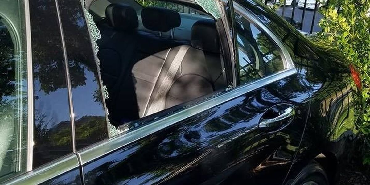 Six cars broken into overnight outside of uptown Charlotte