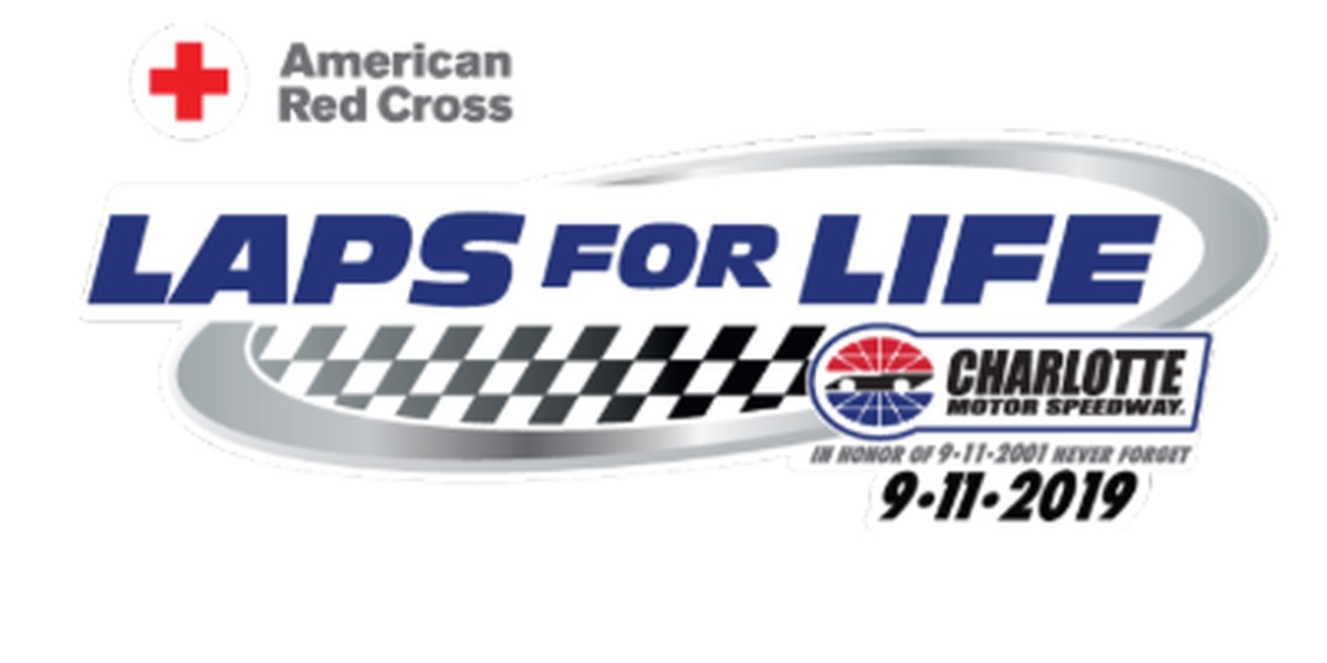 Laps for Life blood drive at Charlotte Motor Speedway on Wednesday