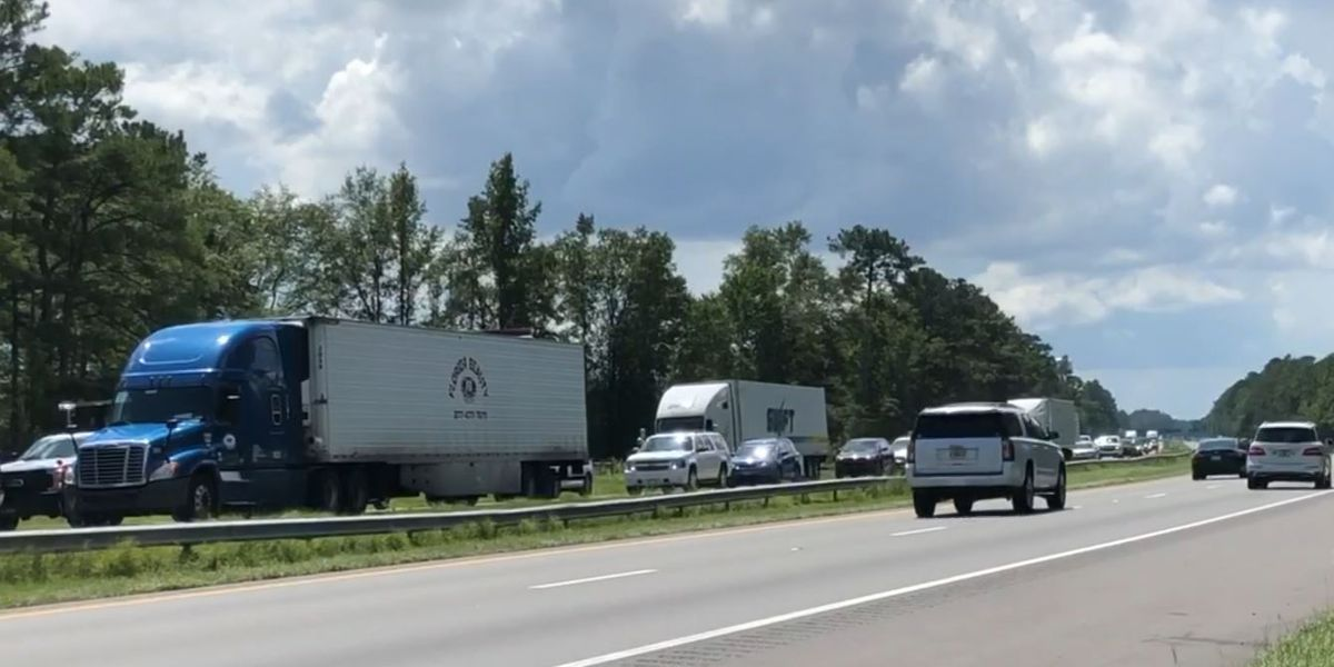 Hurricane Dorian evacuations causing backups on NC interstates