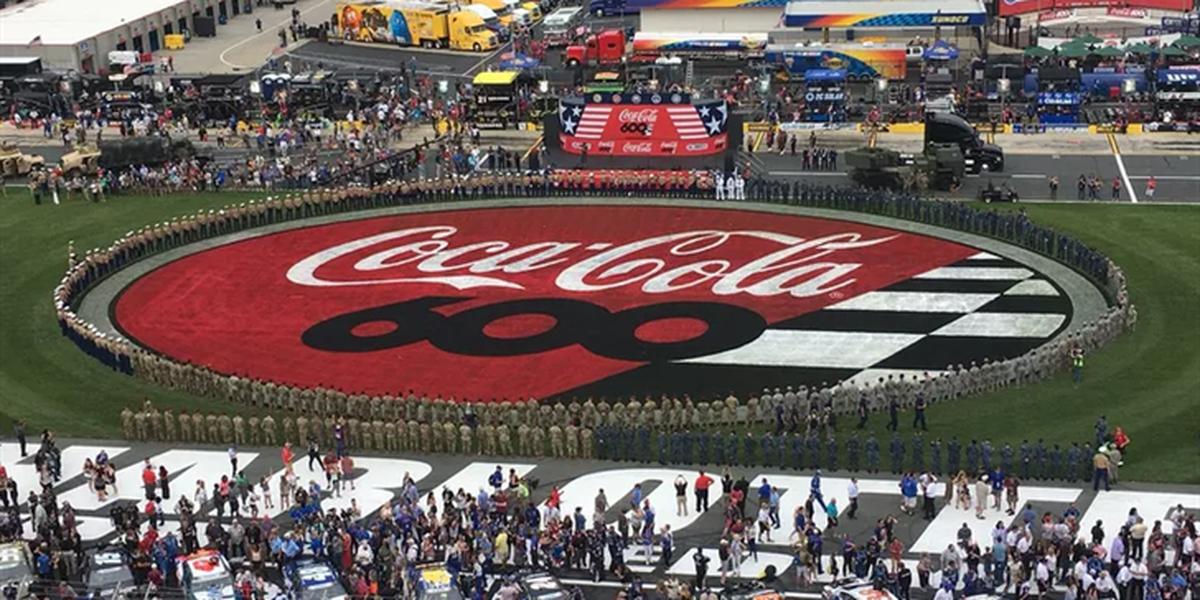 Kyle Busch dominates Coca-Cola 600