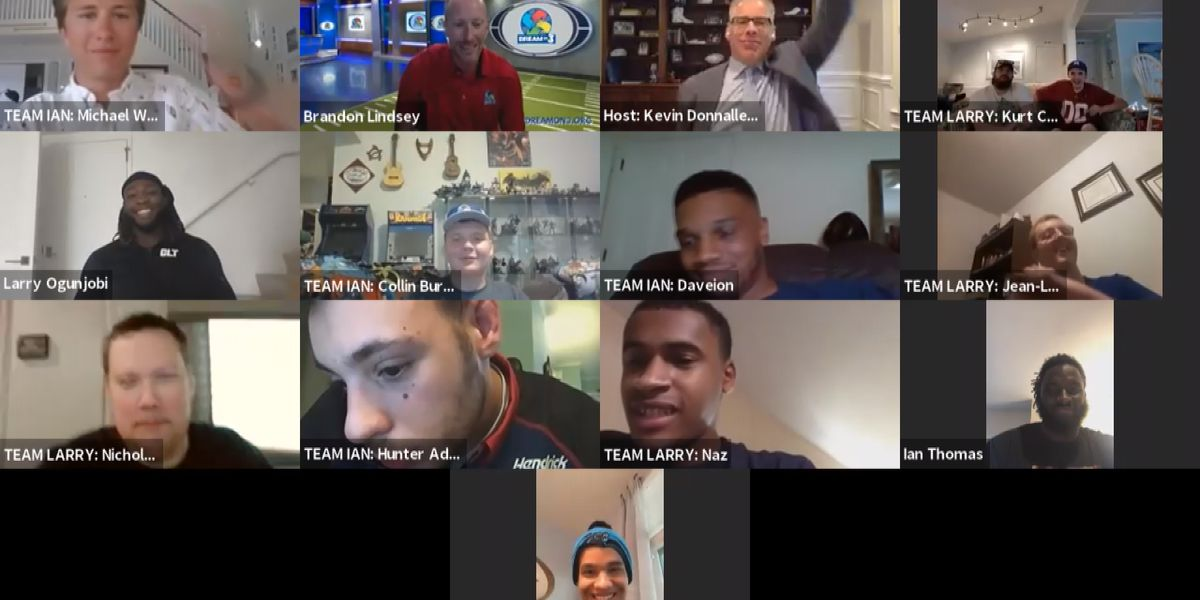Dream On 3: Virtual sports trivia with two professional football players