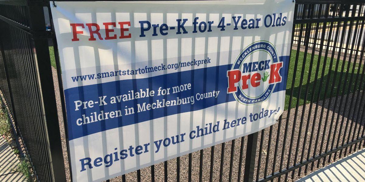 Universal PreK kicks off in Mecklenburg County
