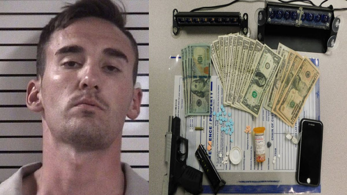 Man accused of impersonating officer arrested on multiple charges