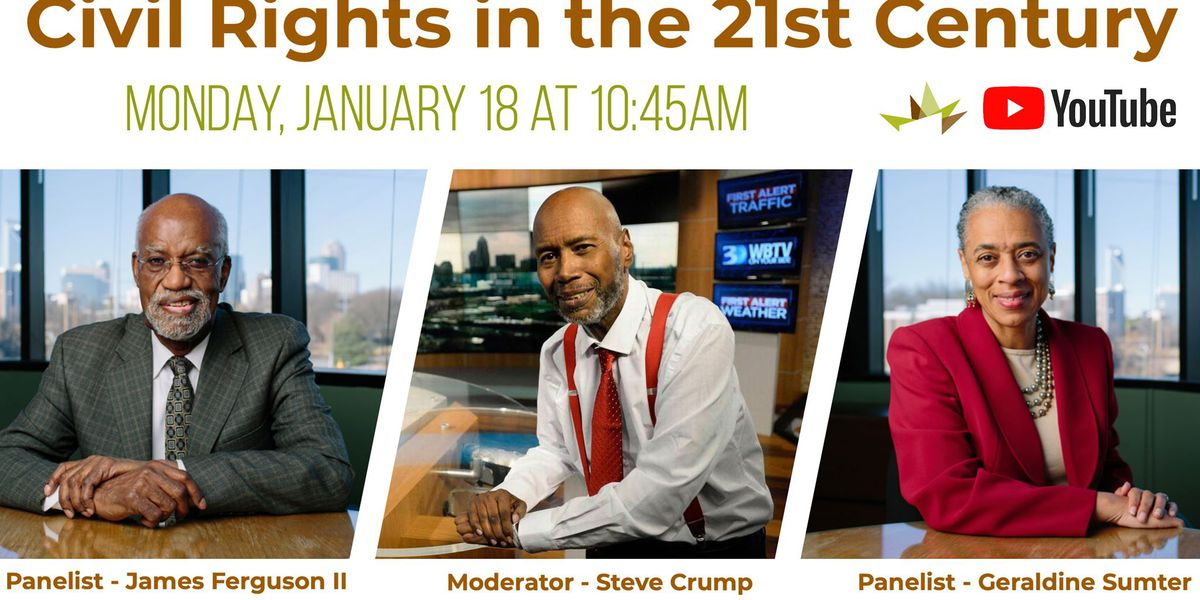 WBTV's Steve Crump to moderate virtual roundtable on MLK Day presented by Gantt Center