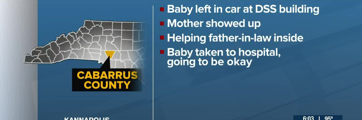Mom charged with misdemeanor after baby left in car outside DSS office