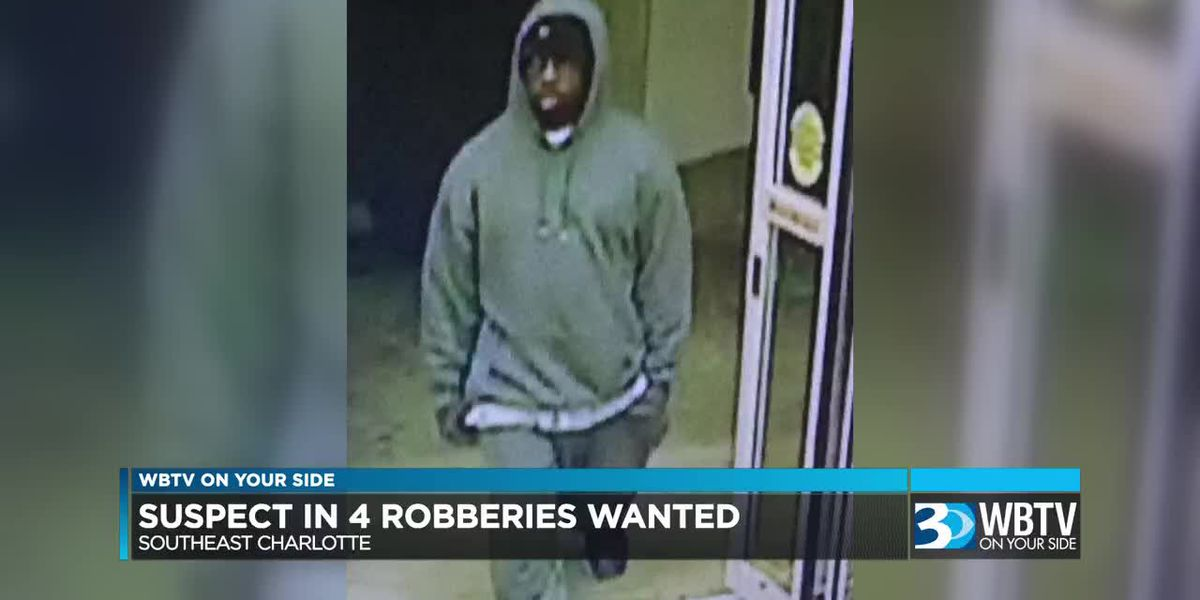 CMPD: Man wanted after four unsuccessful robbery attempts in 30 minutes