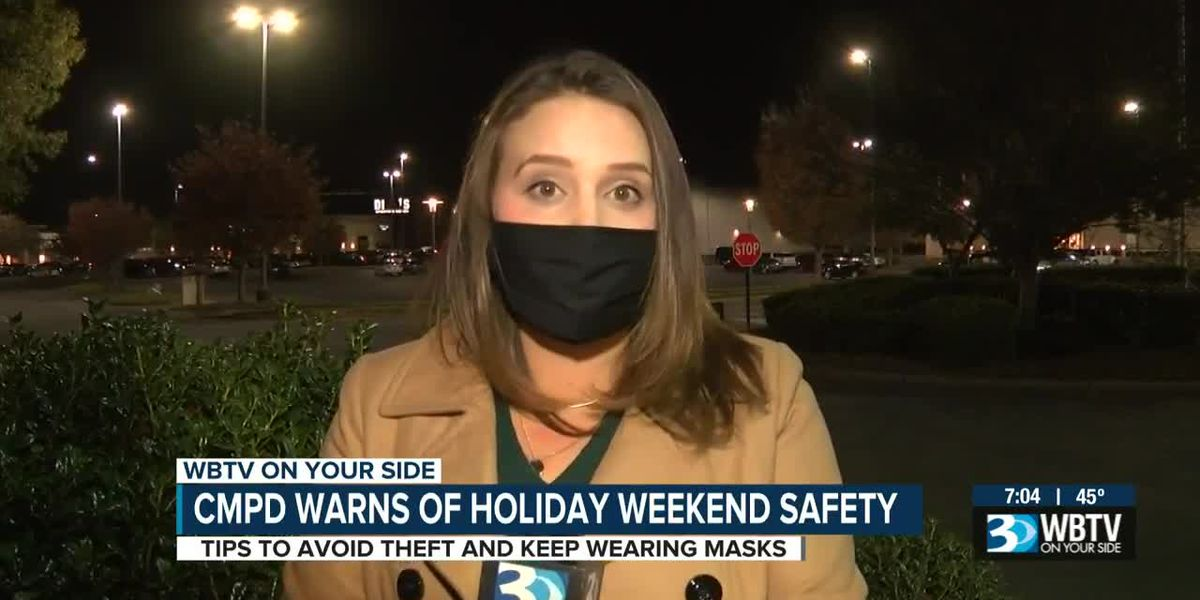 CMPD warns of holiday safety