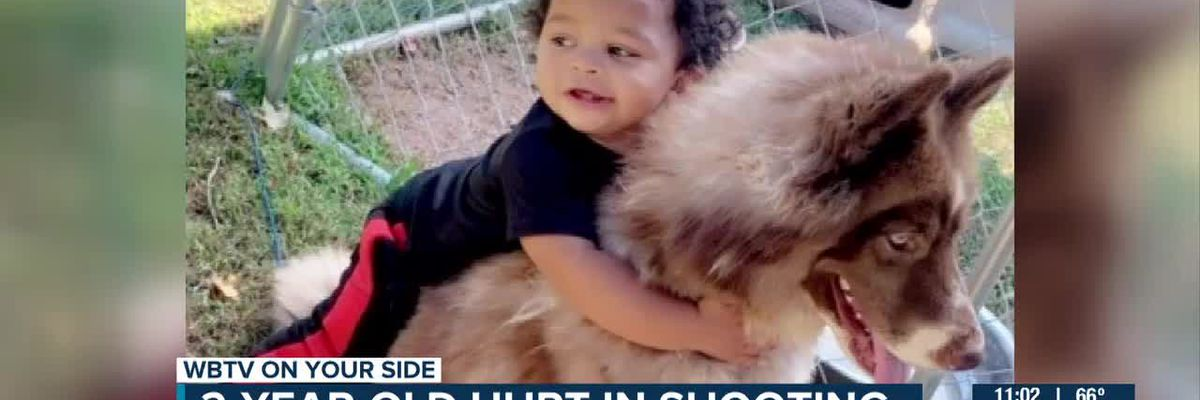 2-year-old hurt in shooting