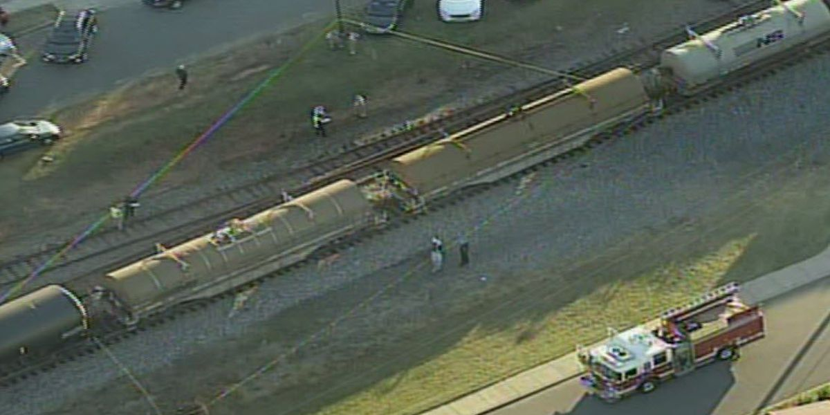 Man struck by train, seriously injured in Gaston County