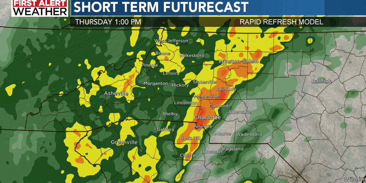 First Alert Thursday for flooding rains and severe storms