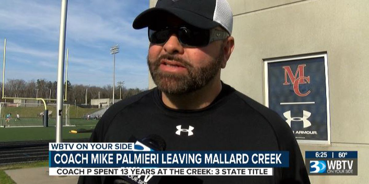 Mike Palmieri leaving Mallard Creek