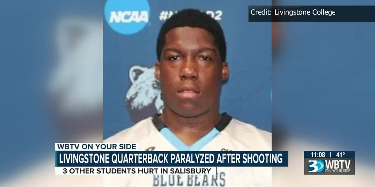 Livingstone quarterback paralyzed, 3 other students injured after Salisbury restaurant shooting, police say