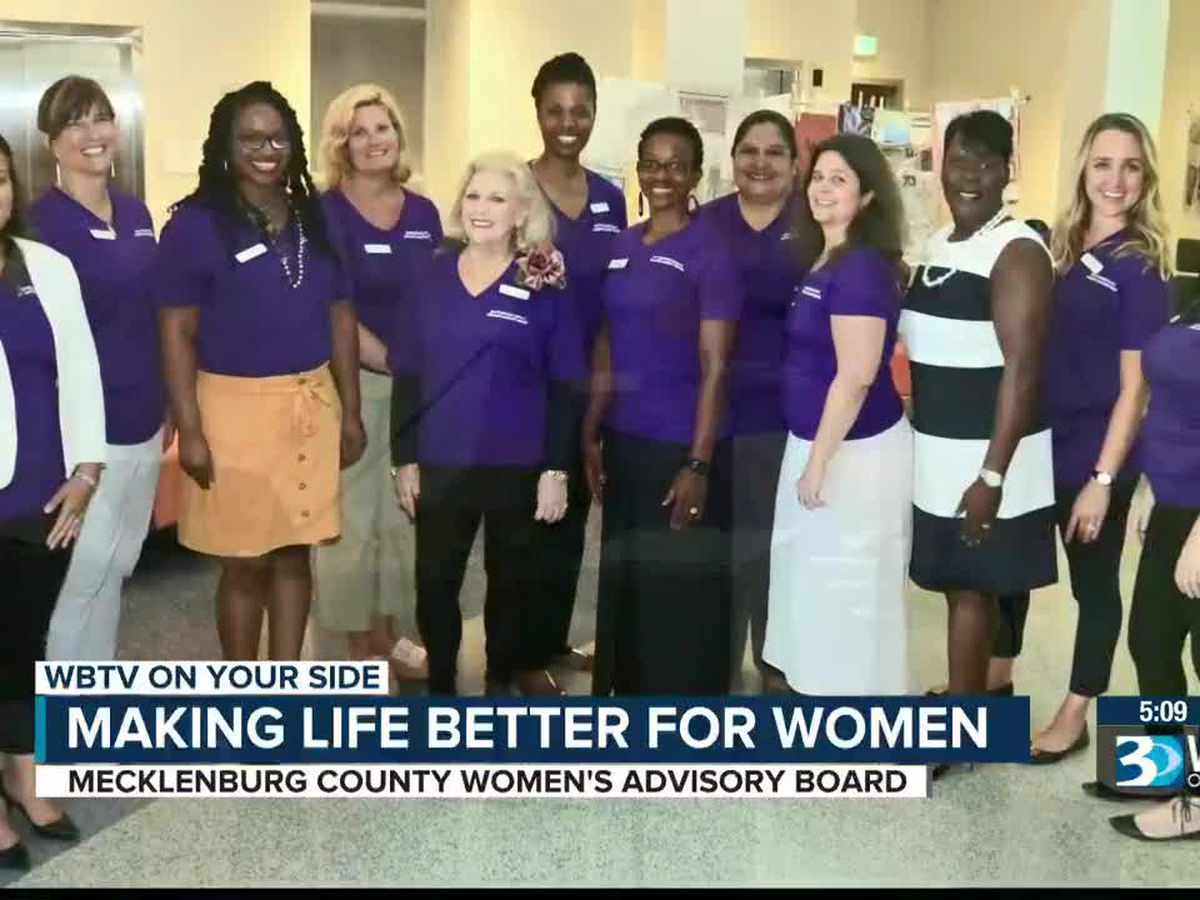 Women's Advisory Board focuses on making life better for women in Mecklenburg County