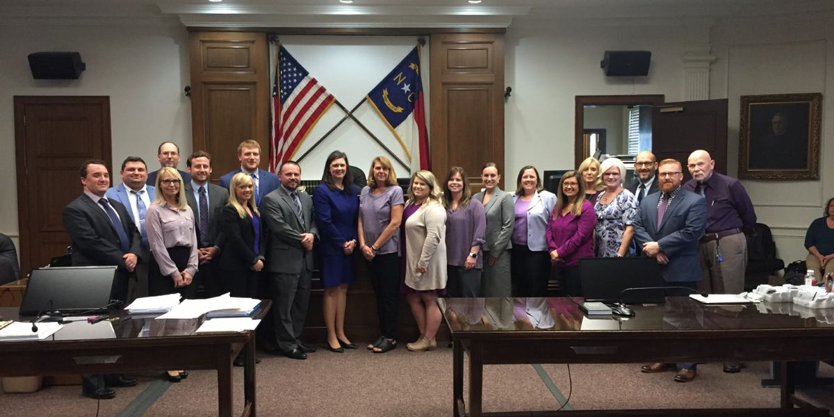 Rowan District Attorney's Office honors Domestic Violence Awareness Month