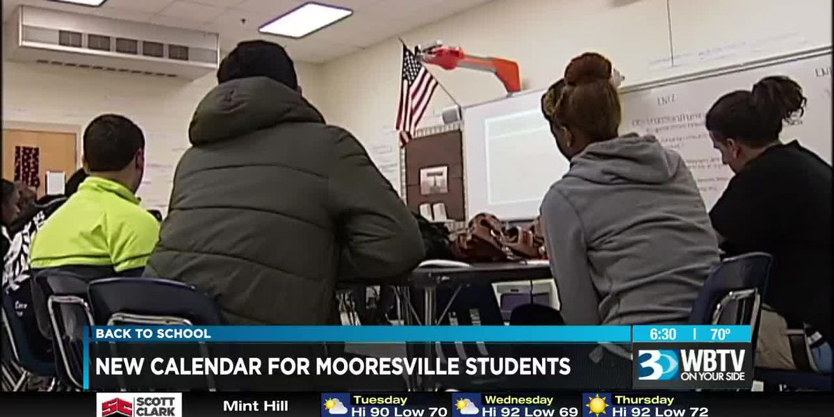 Mooresville students head back to school early this year