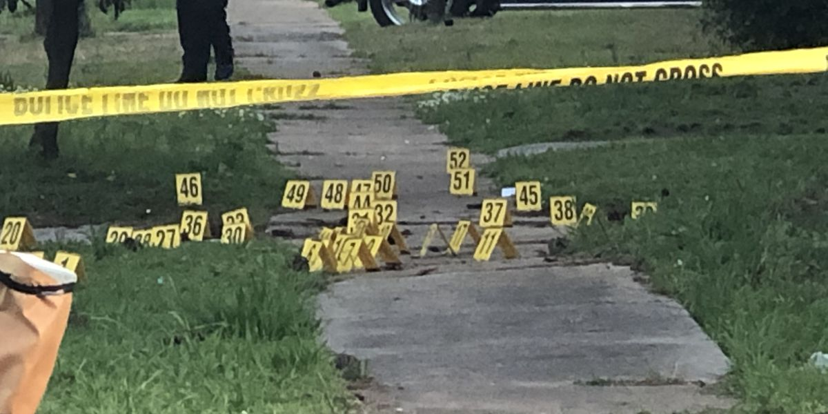 1-year-old shot in Bham; over 60 shell casings found at the scene