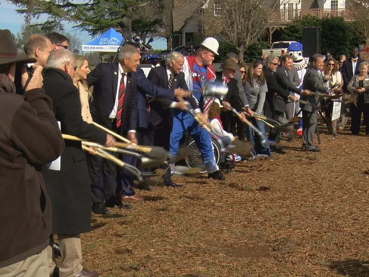 'Miracle' in the making as S.C. leaders celebrate groundbreaking for all-inclusive park