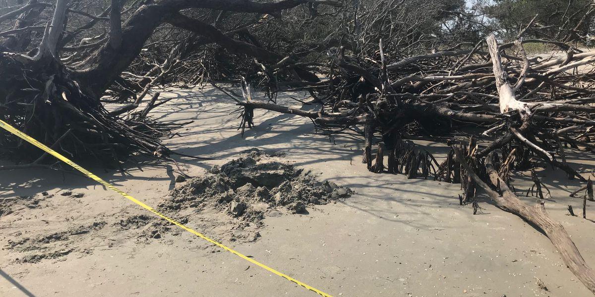 Civil War cannonballs found on beach after Hurricane Dorian
