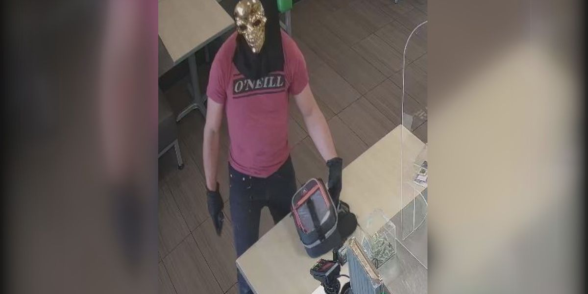 Crime Stoppers: Police searching for suspect who wore Halloween mask during robbery