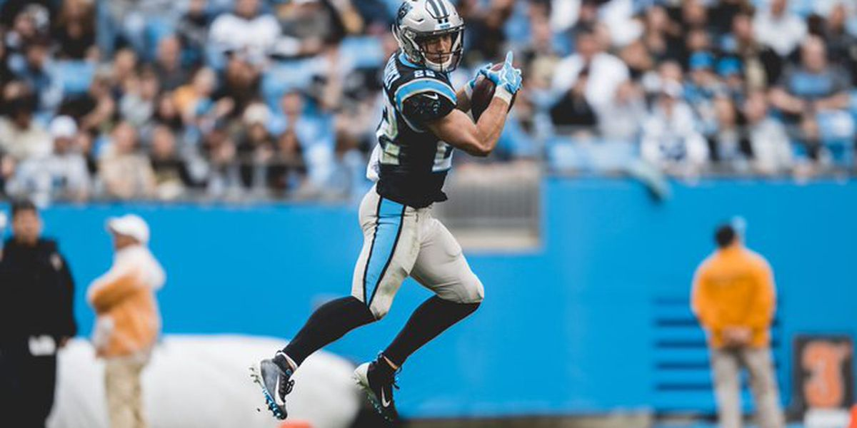 Panthers offensive coordinator Joe Brady has to lower 1 stat for Christian McCaffrey