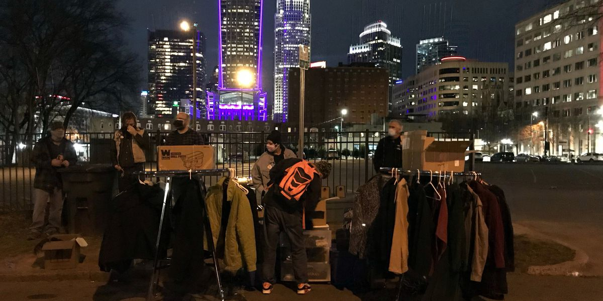 Charlotte trio supports homeless people during pandemic
