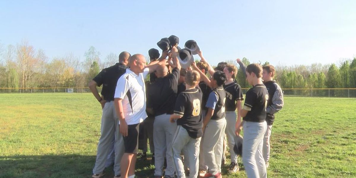 Dads step up, get creative to help NC middle school win baseball game after five-year losing streak
