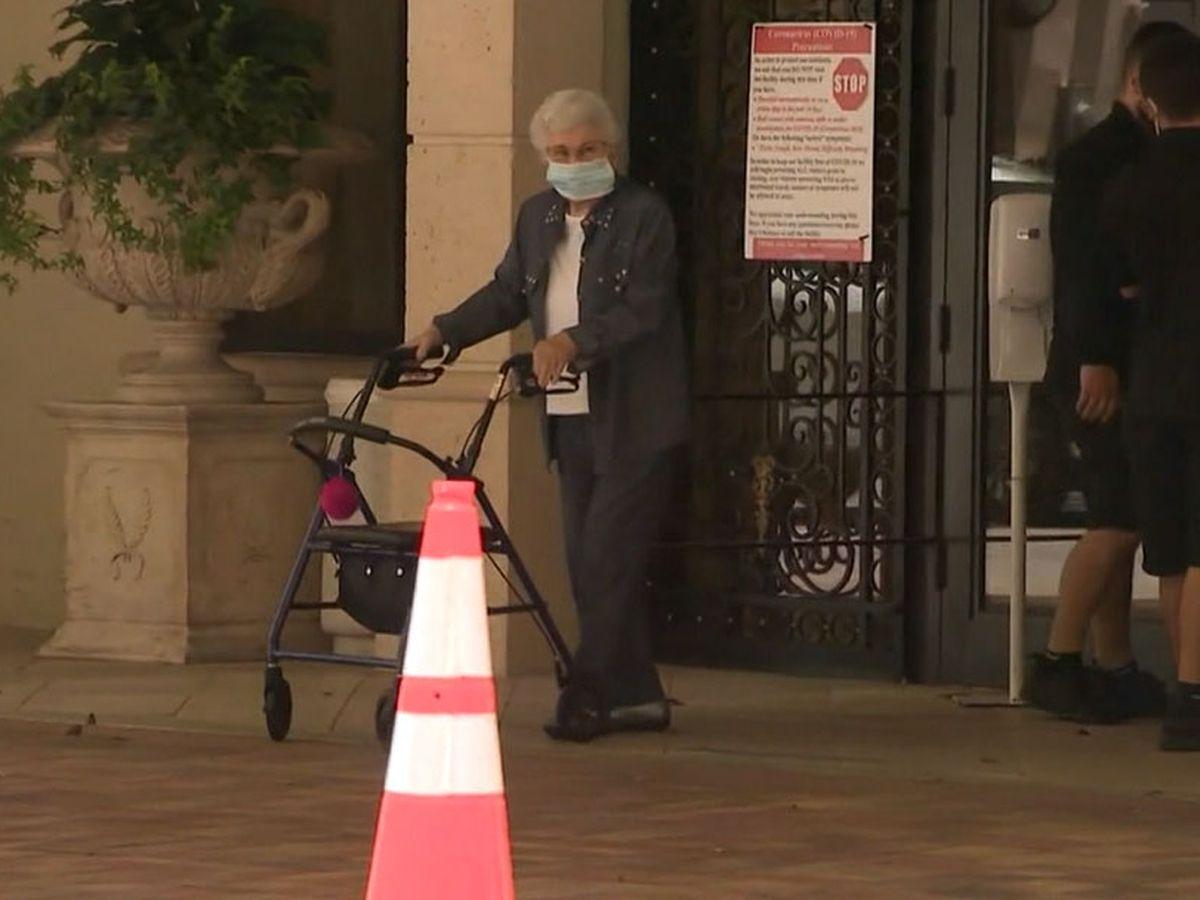 Report: Virus cases in nursing homes drop 82%