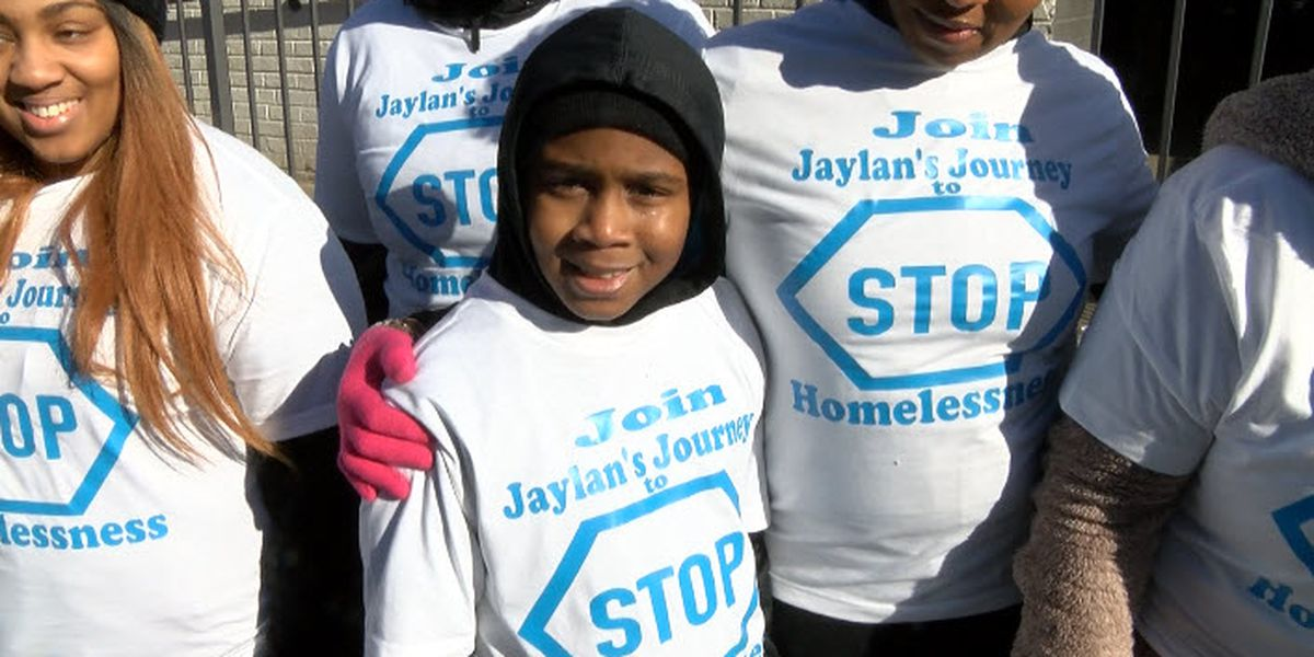 10-year-old Charlotte boy saves money to help the homeless in his community