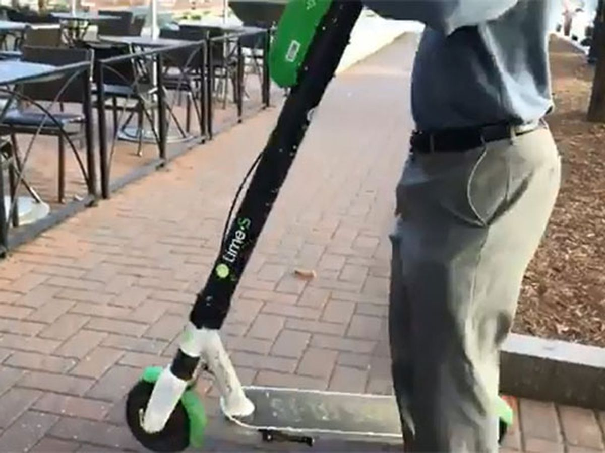 Who will enforce Charlotte's scooter ordinance?