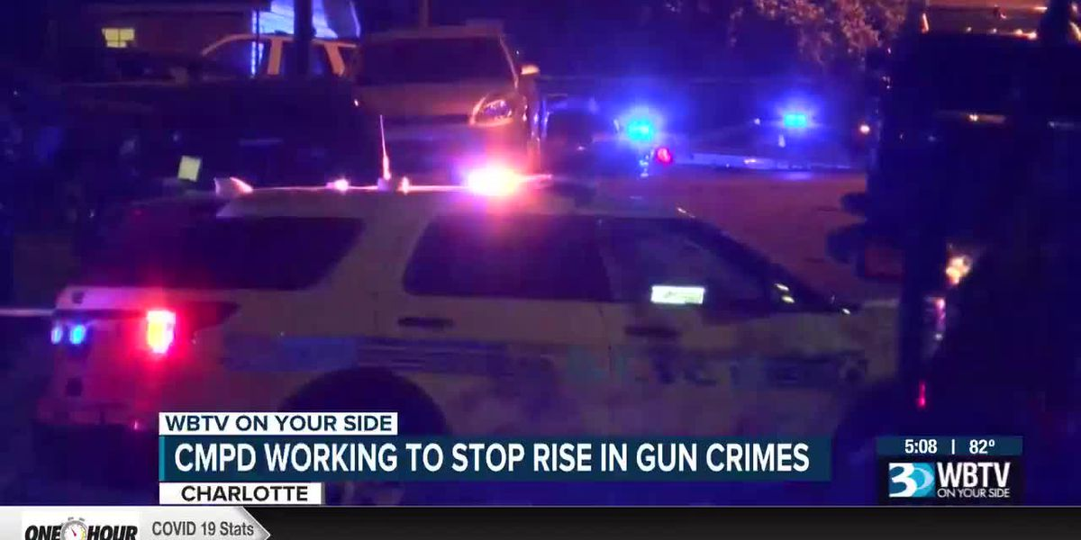 CMPD working to stop rise in gun crimes
