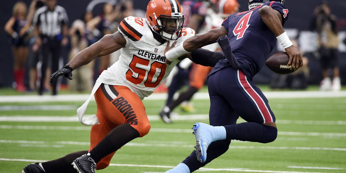 Cleveland Browns DE Chris Smith says he'll play against the New York Jets just days after girlfriend's death