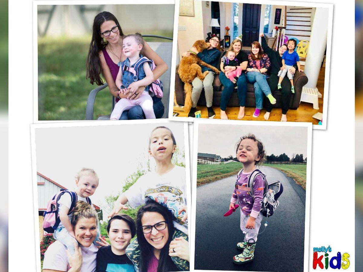 Meet the newest one of our #MollysKids: Emily Fleenor in Hickory, and her big, loving family
