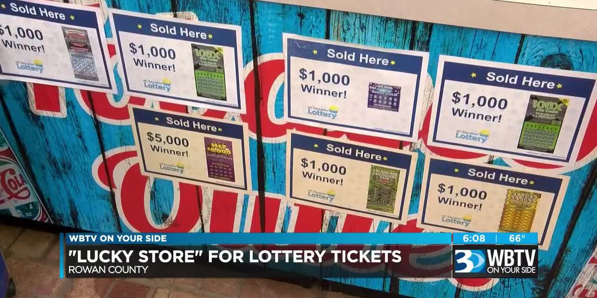 'Lucky Store' for lottery tickets