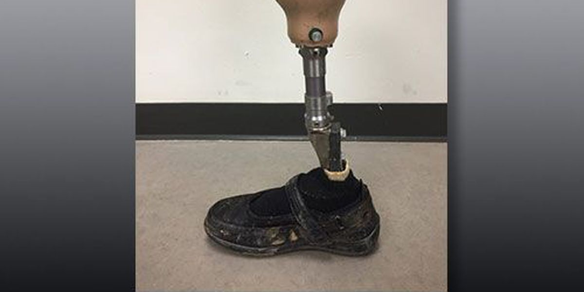 Prosthetic leg found in NC river, owner being sought