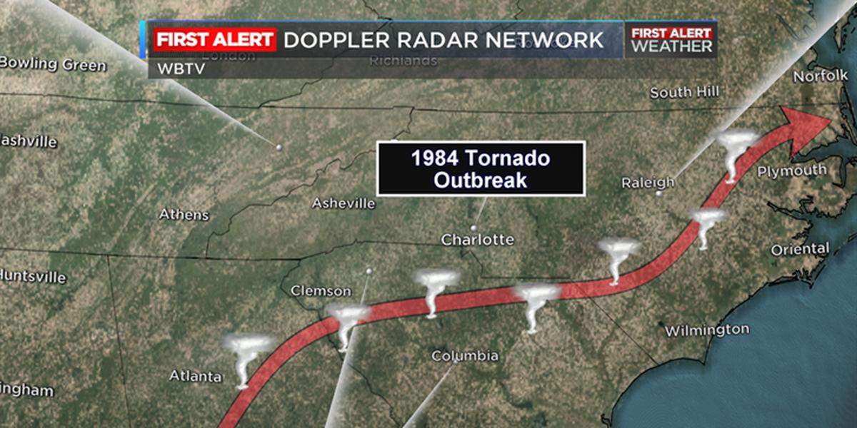 BLOG: Anniversary of 1984's carolina tornado outbreak