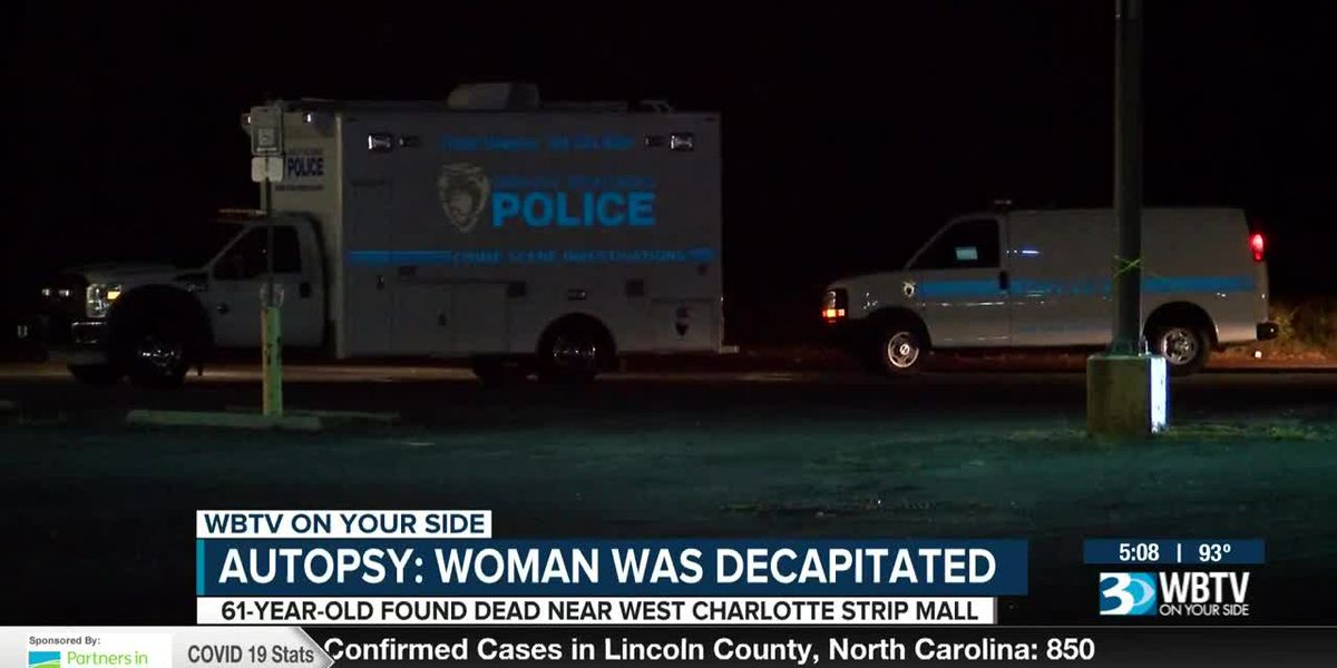 Autopsy: Woman found dead in Charlotte was decapitated