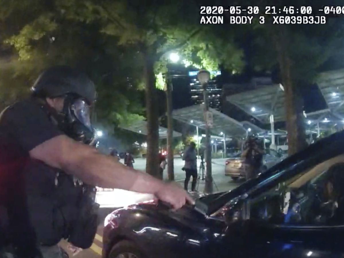 6 Atlanta officers charged after students pulled from car