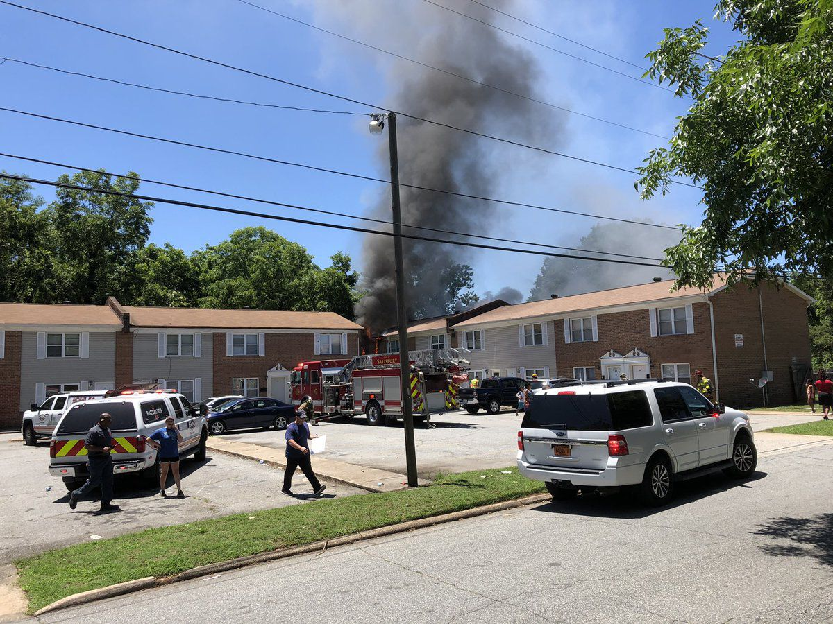 Man accused of setting apartment on fire in Salisbury