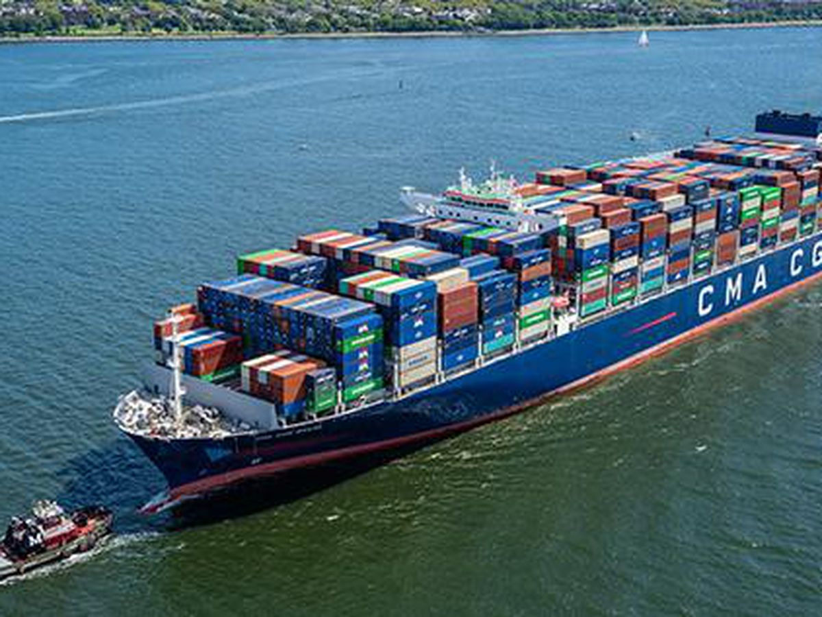 Largest container ship to call East Coast will arrive in Savannah on Friday
