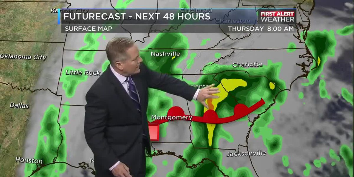 WBTV Wednesday morning forecast
