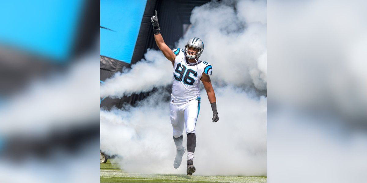 Carolina Panthers defensive end Wes Horton retires from the NFL